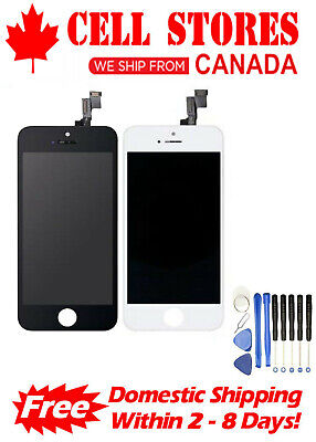 LCD Touch Screen Digitizer Display Assembly Replacement for iPhone 5S / SE