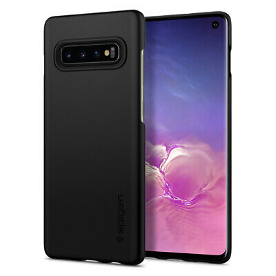 Galaxy S10/ S10 Plus/ S10e Spigen® [Thin Fit] Ultra Slim Lightweight Case Cover