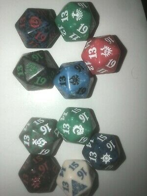 Guilds of Ravnica Ravnia Allegiance Spindown Die Set 10 Dice