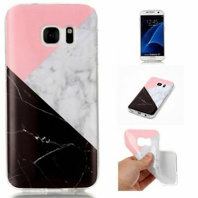 Luxury Colourful Marble Pattern Design Soft TPU Silicone Case Cover For Samsung