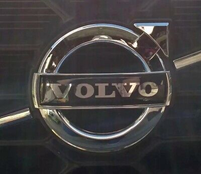BLACK VOLVO Grille Repair Replacement Emblem Badge - All Sizes - IMPROVED DESIGN
