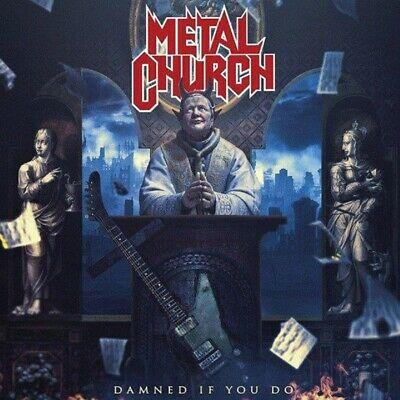 Metal Church Damned If You Do Cd Mexican Edition Mexico