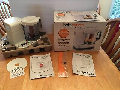 Williams And Sonoma Baby Brezza Prima Baby Food Maker & Recipe Book