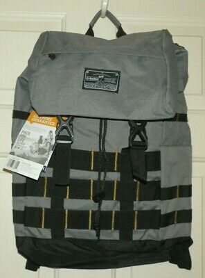 New Gray Corona Day Pack 31 Liters Padded Compartment Back Access Side Pockets