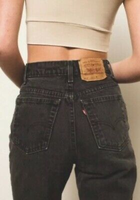 Levis 512 RARE Vintage 1980s 100% Cotton Made In USA Mom Jeans Sz 13 🌈 690e3d3ea