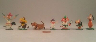 Marx Tinykins Hanna-Barbera Miniatures Quick Draw McGraw Lot (Hand Painted 1961)
