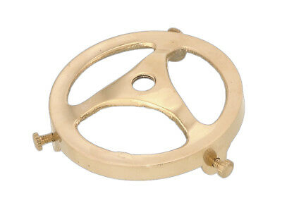 """2 1/4"""" Fitter ~ Cast SOLID BRASS ~ Glass Shade Holder Fitter ~ Fits 1/8 IPS"""