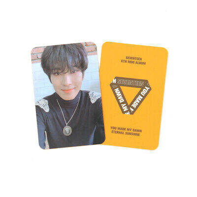 [SEVENTEEN]You Made My Dawn Official Photocard/Eternal Sunshine Ver./ A - WONWOO
