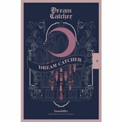 Dream Catcher-[The End Of Nightmare]4th Mini Instability CD+PhotoBook+Card K-POP