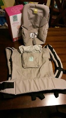 Lillebaby Essentials Original 4-in-1 WITH Infant Insert Baby Carrier Stone color