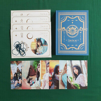 GFriend The 2nd Album Time for us Limited Edition Split Items Collectable Goods