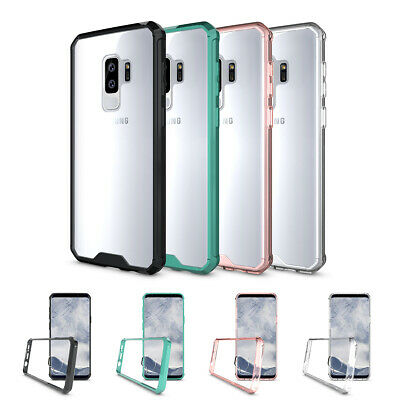 For Samsung Galaxy S9 S8 Plus S7 EDGE NOTE 9 8 Clear Shockproof Hard Case Cover