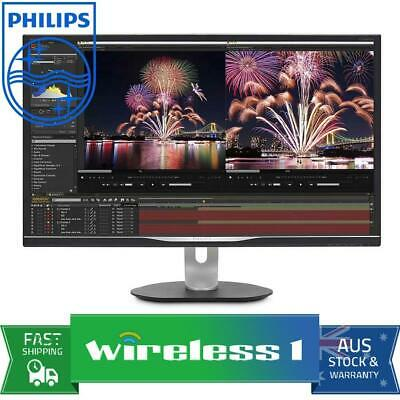 Philips P-Line 328P6VUBREB 31.5in 4K UHD HDR 600 VA Monitor with USB-C
