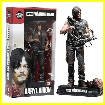 """The Walking Dead TV Series 7 Daryl Dixon 7"""" Action Figure Gift Toys NEW in Box"""