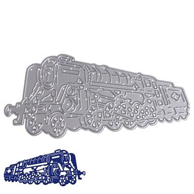 Train Metal Cutting Dies Stencil For DIY Scrapbooking Paper Cards Gift Decor