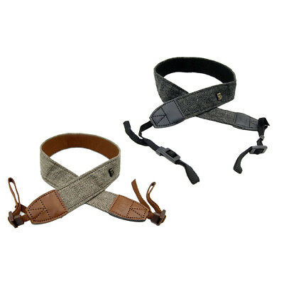 Vintage SLR DSLR Camera Strap Shoulders Neck Belt for Nikon Canon Pentax Sony