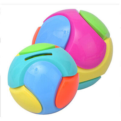 Lovely Football  Bank Saving Coin Money Tin Ball Boxes For Children Gift Toy B