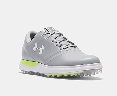 015f100b1cca2 NEW UNDER ARMOUR Womens Performance Spikeless Golf Shoes Gray Grey ...