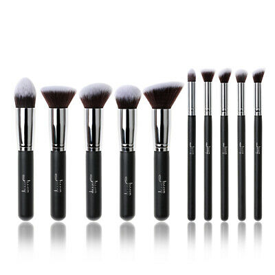 AU Jessup Makeup Brushes Set Kabuki Foundation Blending Eye Cosmetic Tool Kit