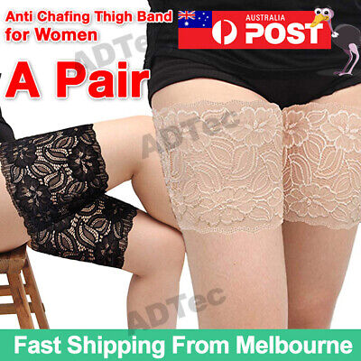 Anti Chafing Lace Thigh Bands Non Slip Elastic Socks leg Protection