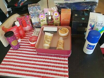 Bulk Lot Of Pamper Products Including Body Shop