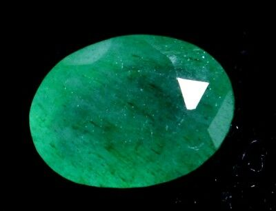 3.70 Ct Certified Natural Colombian Excellence Green Emerald Gemstone