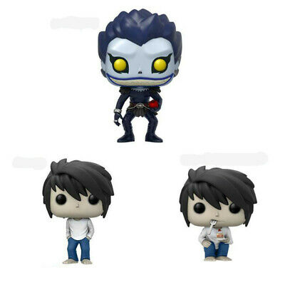 Funko Pop Anime Death Note Ryuk L·Lawliet Action Figure Movie Vinyl Toys Gift