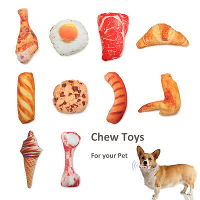 Anti Bite Dog Toys Creative Simulation Puppy Pet Play Chew Toys Squeaky 2019~