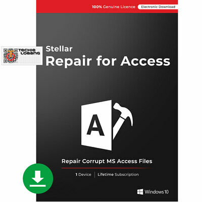 Stellar Repair for Access Software|Standard|Repair Corrupt Database|Download