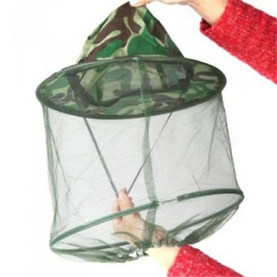 Outdoor Mosquito Resistance Bug Insect Bee Net Mesh Head Face Protector·Hat