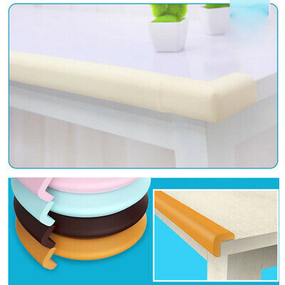 2m Baby Safety Bumper Strip Anti-collision Soft Desk Edge Table Corner Protector