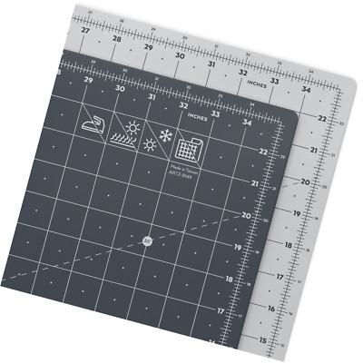 """ARTEZA Self Healing Rotary Cutting Mat, 24""""x36"""" with Grid & Non Slip Surface for"""