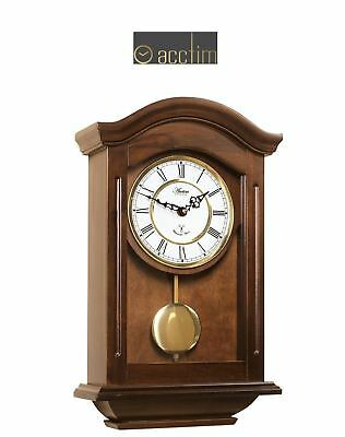 ACCTIM Thorncroft Radio Controlled Westminster Quartz Wall Clock with Pendulum