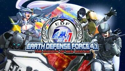 Earth Defense Force 4.1 Shadow of New Despair Steam Key With 18 DLCs