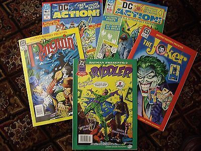 FIVE NEW 90s (DC) SPECIAL COMICS ONE PRICE
