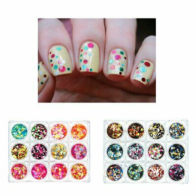 Chunky Mixed Glitter Pot Nails for Face Body Eye Shadow Festival Tattoo Cosmetic