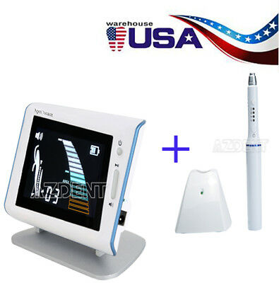 Dental Endo Gutta Percha System Obturation Heated Pen + Apex Locator DTE DPEX II