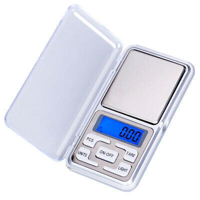 500g x 0.1g Mini Digital Electronic Pocket Weight LCD Gram Jewellery Scale