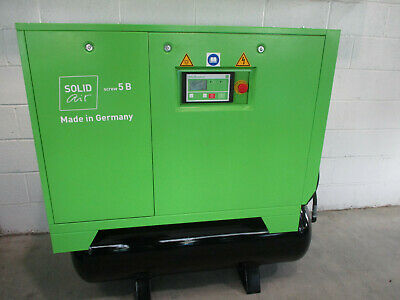 Solid Air Quality Screw Compressor Model S5Brm 7.5Hp, 5.5Kw Made In Germany,