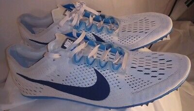 new styles 9670b 3b858 Nike Zoom Victory 3 Unisex Racing Spike Size 13 Gray Blue Mid Distance  835997