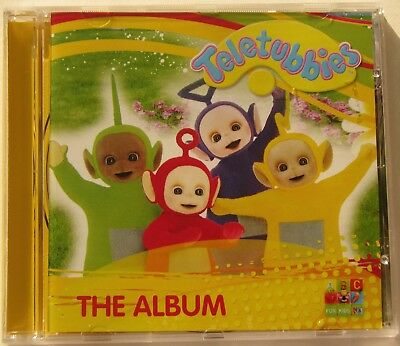 Abc For Kids....teletubbies......the Album.... Music Cd