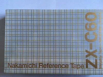 Nakamichi Reference Tape Zx-C60 Metal Factory Sealed Audio Cassette Japan