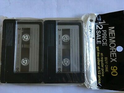 Memorex Mrx2 Oxide 2 Pack Factory Sealed Audio Cassettes