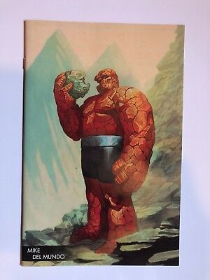 Marvel Two-In-One #3 Marvel Comics Del Mundo Young Guns Virgin Variant Nm
