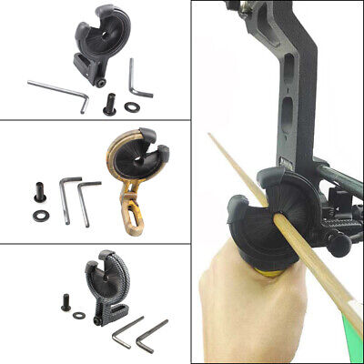 Archery Drop Away Biscuit Arrow Rest Hold for Compound Bow Hunting Brush Whisker