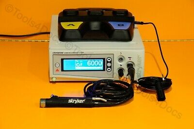 Stryker Crossfire Integrated Arthroscopy w/foot-switch and Formula Core Shaver
