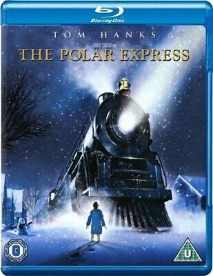 The Polar Express [Blu-ray] [2004] [Region Free] [DVD][Region 2]