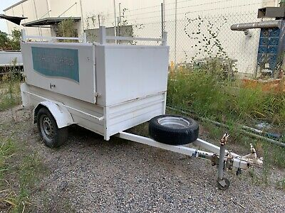 Trailers 2000 7 x 4ft Enclosed Tradesman Tool Box 750ATM Trailer - 2004 Built