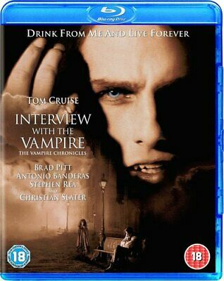 Interview With The Vampire [Blu-ray] [1994] [Region Free] [DVD][Region 2]