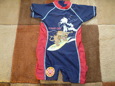 Baby's (12-18 mths) Scooby Doo Themed Surf, Water Suit by Matalan (VGC)